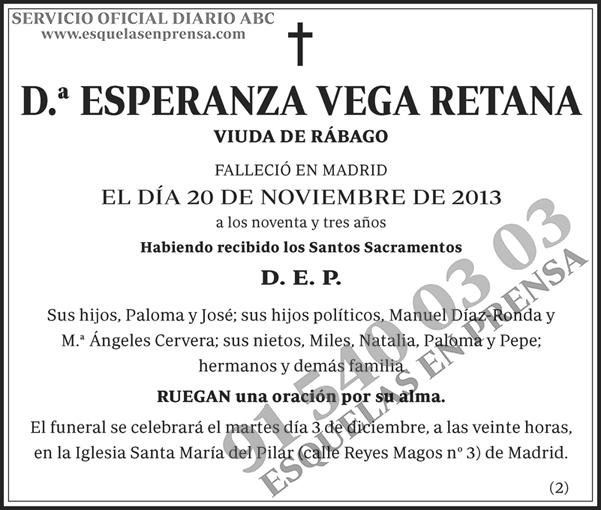 Esperanza Vega Retana
